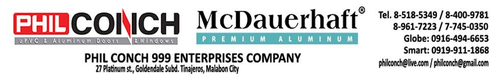 uPVC Doors & Windows Philippines | Phil Conch 999 Enterprises Company